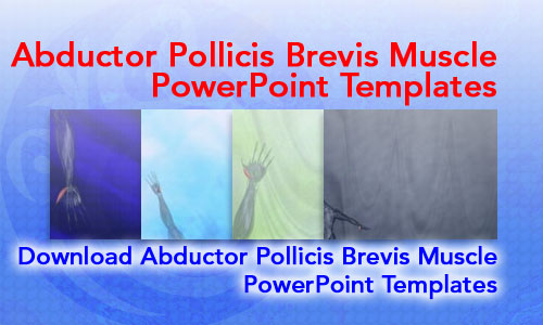 Abductor Pollicis Brevis Muscle Medicine PowerPoint Templates