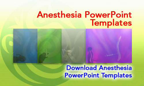 Anesthesia Medicine PowerPoint Templates
