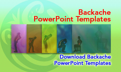 Backache Medicine PowerPoint Templates