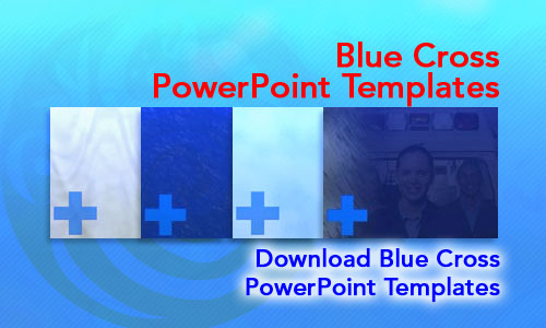 Blue Cross Medicine PowerPoint Templates