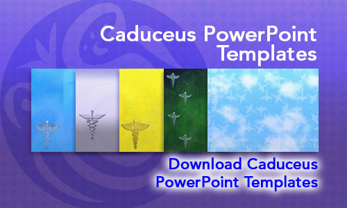 Caduceus Medicine PowerPoint Templates