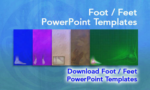 Foot / Feet Medicine PowerPoint Templates