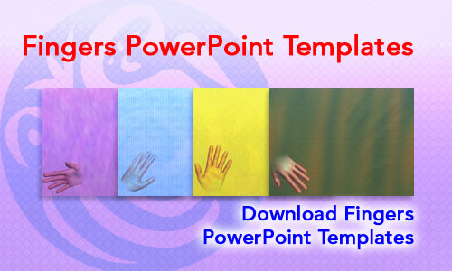 Fingers Medicine PowerPoint Templates