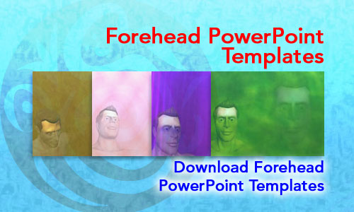 Forehead Medicine PowerPoint Templates