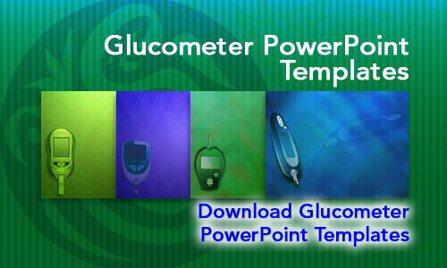 Glucometer Medicine PowerPoint Templates