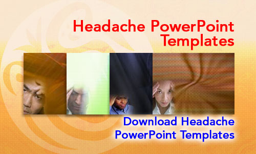 Headache Medicine PowerPoint Templates