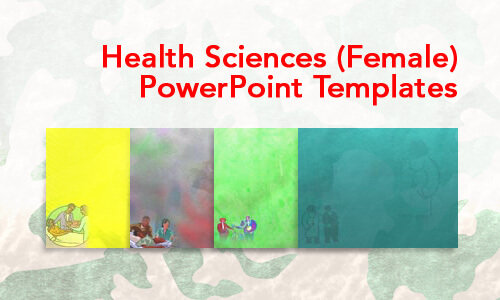 Health Sciences (Female) Medical PowerPoint Templates