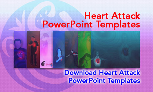 Heart Attack Medicine PowerPoint Templates
