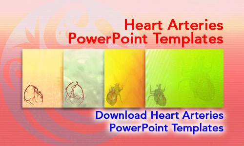 Heart Arteries Medicine PowerPoint Templates