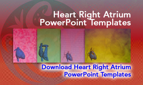 Heart Right Atrium Medicine PowerPoint Templates