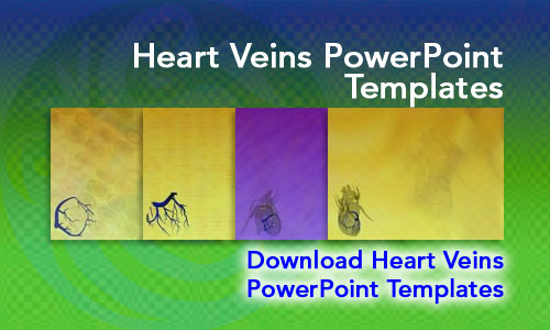 Heart Veins Medicine PowerPoint Templates