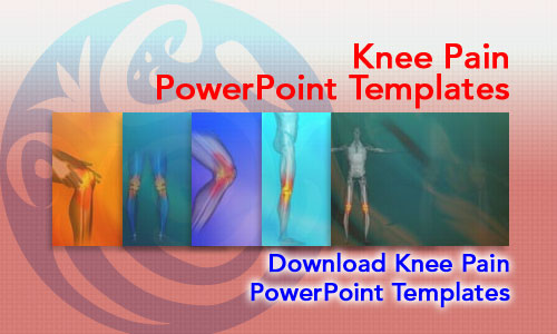 Knee Pain Medicine PowerPoint Templates