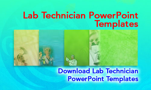 Lab Technician Medicine PowerPoint Templates