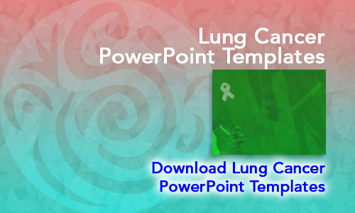 Lung Cancer Medicine PowerPoint Templates