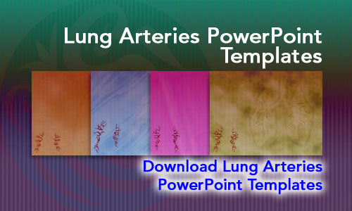 Lung Arteries Medicine PowerPoint Templates