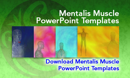 Mentalis Muscle Medicine PowerPoint Templates
