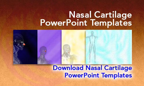 Nasal Cartilage Medicine PowerPoint Templates