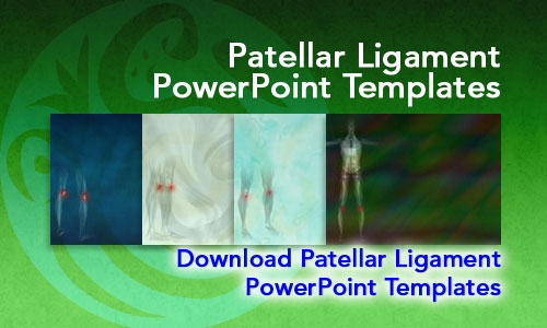 Patellar Ligament Medicine PowerPoint Templates