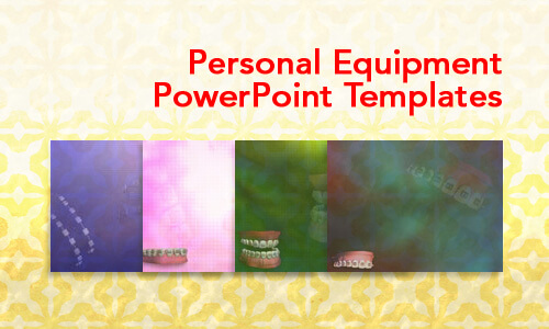 Personal Equipment Medical PowerPoint Templates