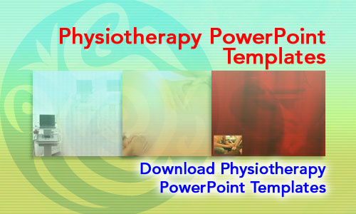 Physiotherapy Medicine PowerPoint Templates
