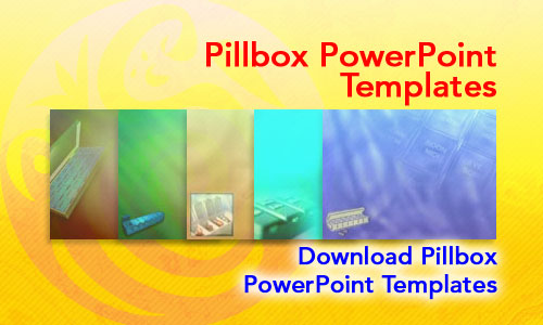 Pill Box Medicine PowerPoint Templates