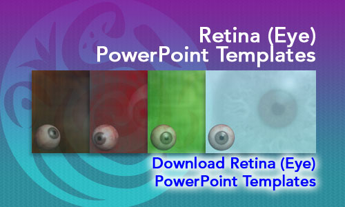 Retina (Eye) Medicine PowerPoint Templates