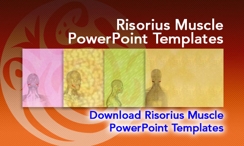 Risorius Muscle Medicine PowerPoint Templates