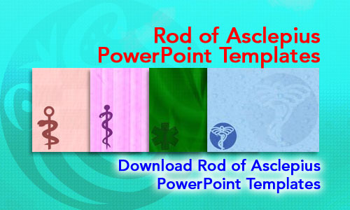 Rod of Asclepius Medicine PowerPoint Templates