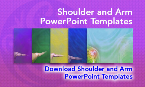 Shoulder and Arm Medicine PowerPoint Templates
