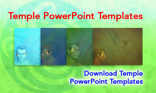Temple Medicine PowerPoint Templates
