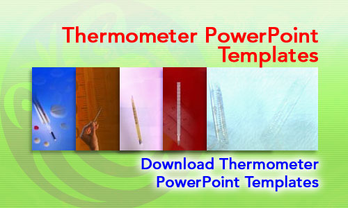 Thermometer Medicine PowerPoint Templates