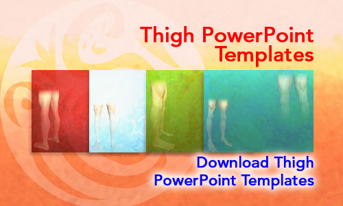 Thigh Medicine PowerPoint Templates