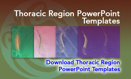 Thoracic Region Medicine PowerPoint Templates