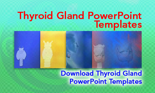 Thyroid Gland Medicine PowerPoint Templates