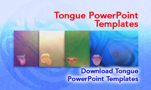Tongue Medicine PowerPoint Templates