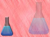 Erlenmeyer Flask Medicine PowerPoint Templates